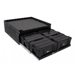 6 Cub Box Drawer and Cargo Sliding Top