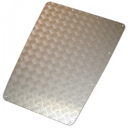Bonnet Chequer Plates - Anodised
