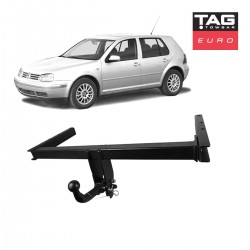 Euro Towbar with European Style Tongue to suit Volkswagen Golf & Audi A3