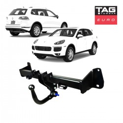 Euro Towbar with European Style Tongue to suit Porsche Cayenne & Volkswagen Touareg