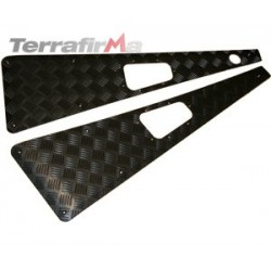 Wing Top Chequer Plates - Black