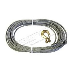 Replacement Winch Cable With Hook