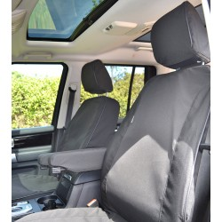 Discovery 4 Canvas Seat Covers From Exmoor Trim BLACK