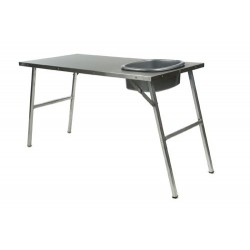 Table SS & Alu 1150mmX550mm With Basin