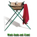 Wash basin and stand